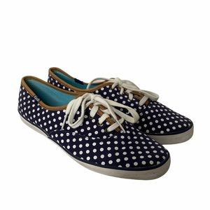 Keds | Polka Dot Lace-up Sneakers WF46400M